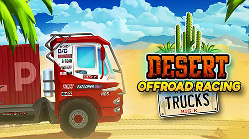 Télécharger Desert rally trucks: Offroad racing pour Android gratuit.