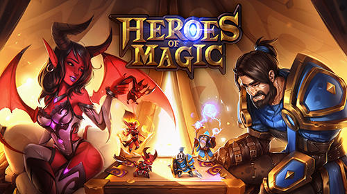 Télécharger Heroes of magic: Card battle RPG pour Android gratuit.