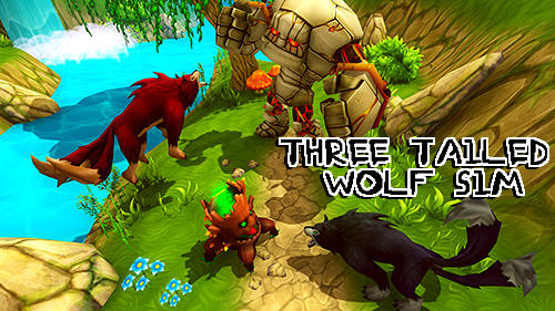 Télécharger Three tailed wolf simulator pour Android gratuit.