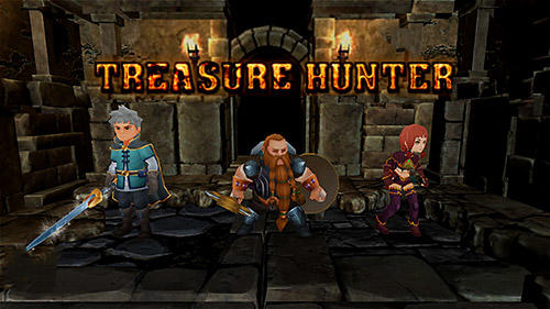 Télécharger Treasure hunter. Dungeon fight: Monster slasher pour Android gratuit.