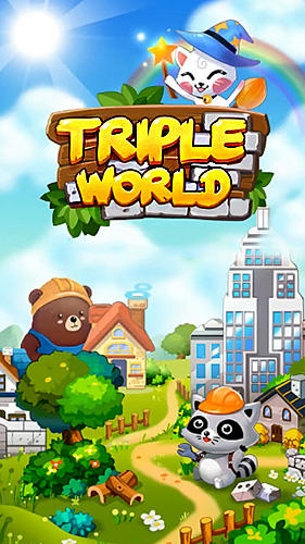 Télécharger Triple world: Animal friends build garden city pour Android gratuit.