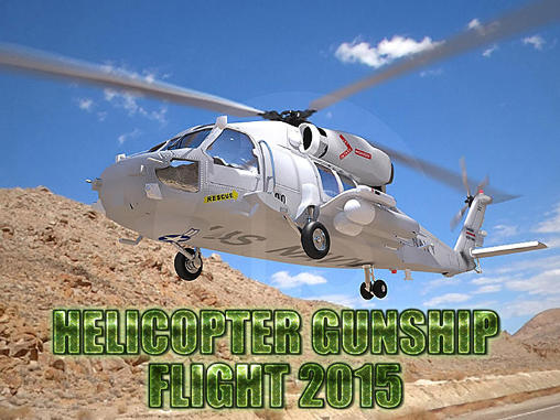 Helicopter gunship flight 2015