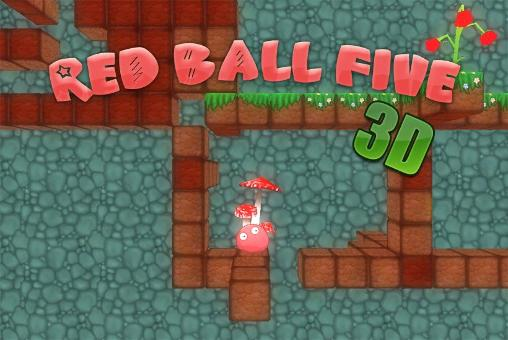 Red ball five 3D