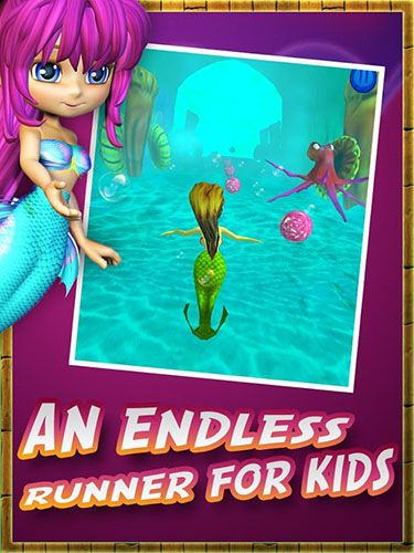 Mermaid adventure for kids