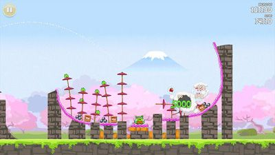 Télécharger Angry Birds Seasons: Cherry Blossom Festival12 pour Android gratuit.