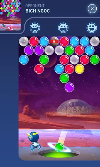 Mars: Destruction des bulles