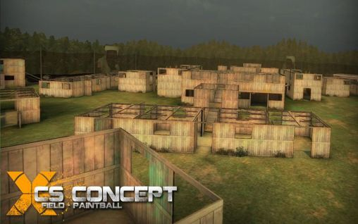 Le Terrain Secret de Paintball: 1 solo