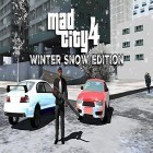 Avec le jeu Need for Speed: Most Wanted v1.3.69 pour Android téléchargez gratuitement Mad city 4: Winter snow edition sur le portable ou la tablette.