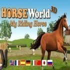 Avec le jeu Legend of empire: Kingdom war pour Android téléchargez gratuitement Horse world 3D: My riding horse sur le portable ou la tablette.