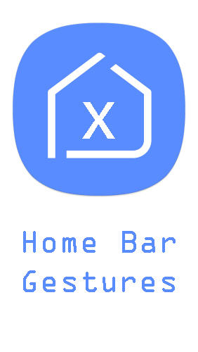 Home bar gestures