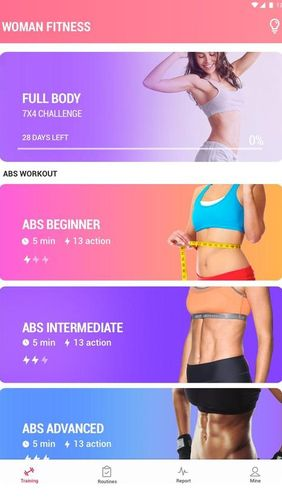 Female fitness - Women workout