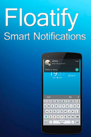 Notifications intelligentes en incrustation