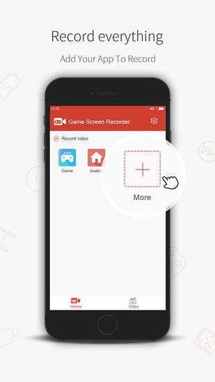 Game Screen: Recorder