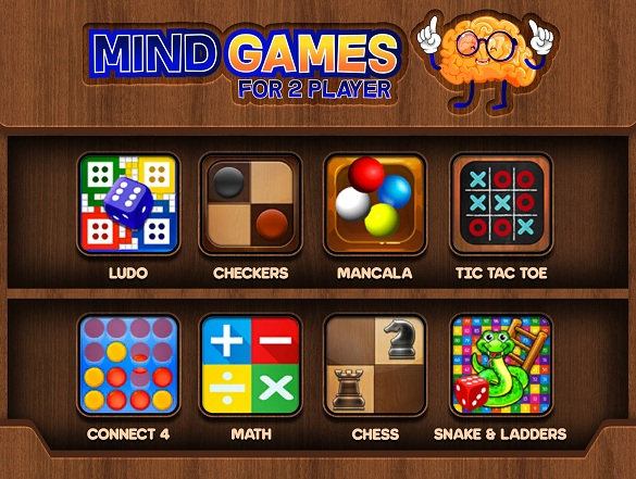 Télécharger Mind Games for 2 Player pour Android 4.1 gratuit.