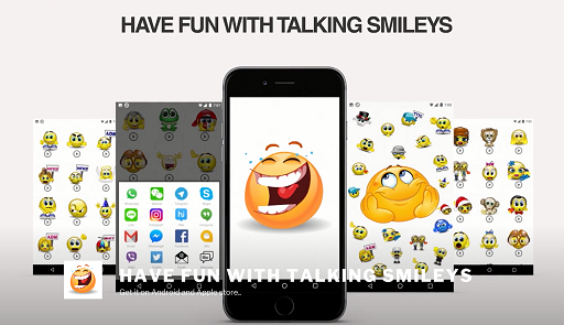 Télécharger l'app Messagerie Talking Smileys - Animated Sound Emoticons gratuit pour les portables et les tablettes Android.