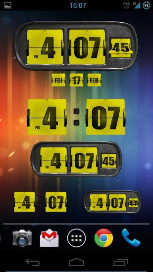 Animated Flip Clock 3D