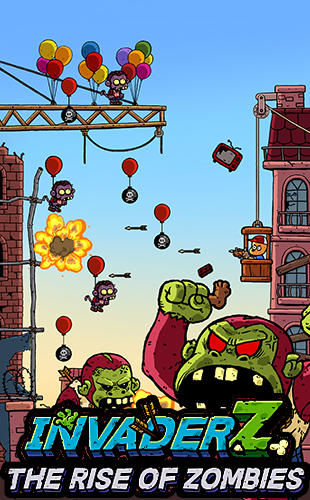Télécharger Invader Z: The rise of zombies gratuit pour iPhone.