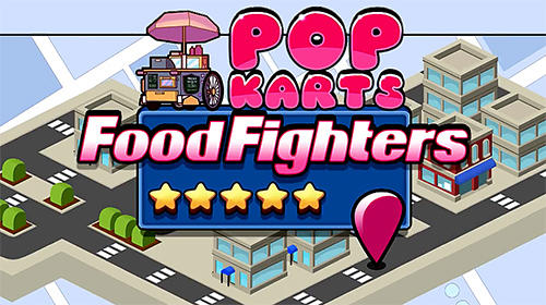 Télécharger Pop karts food fighters gratuit pour iPhone.