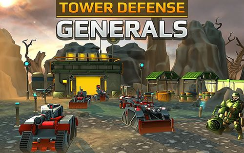 Télécharger Tower defense generals gratuit pour iPhone.