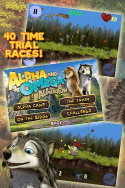 Alpha and Omega Alpha Run Game