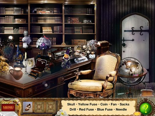 Detective Holmes: Trap for the hunter - hidden objects adventure