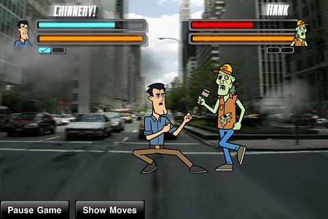 Street zombie fighter