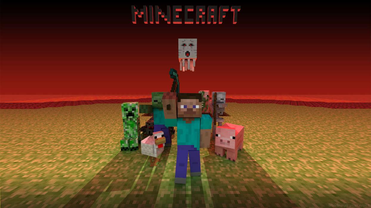 Télécharger Gratuitement Limage Pour Le Portable Minecraft