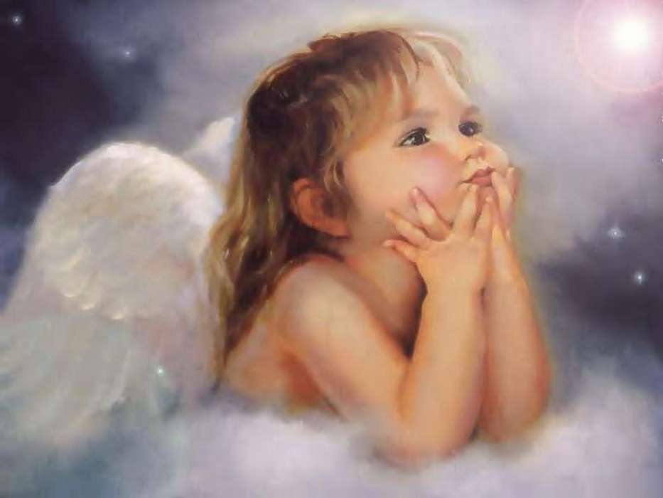 Children, Angels, Drawings