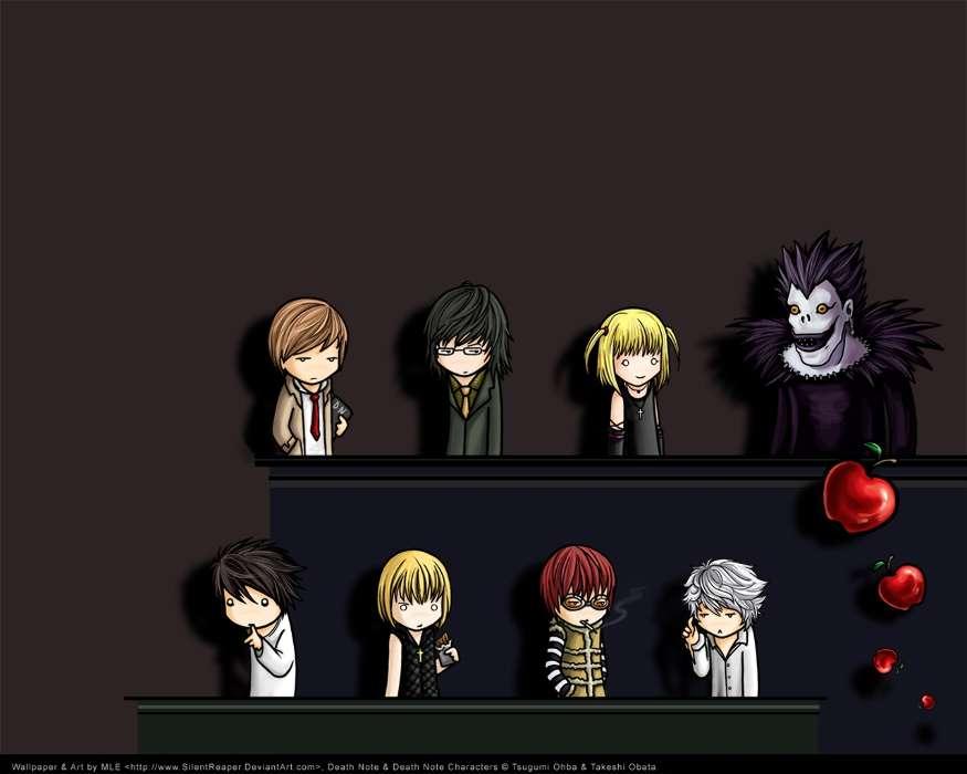 Telecharger Gratuitement L Image Pour Le Portable Dessin Anime Anime Death Note