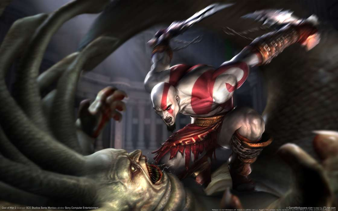 Games, Fantasy, Art, God of War