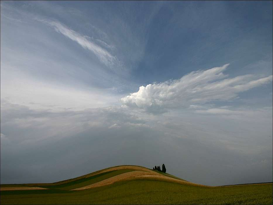 Landscape, Sky, Art photo