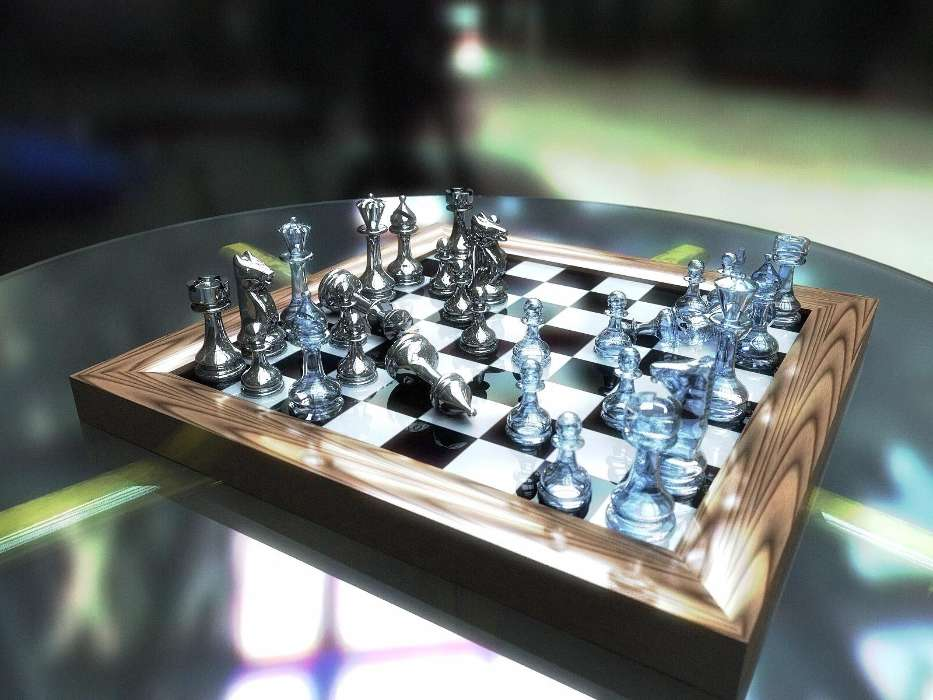 Chess, Objects