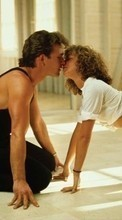 Télécharger une image 128x160 Cinema, Humans, Dirty Dancing, Patrick Swayze, Jennifer Grey pour le portable gratuitement.