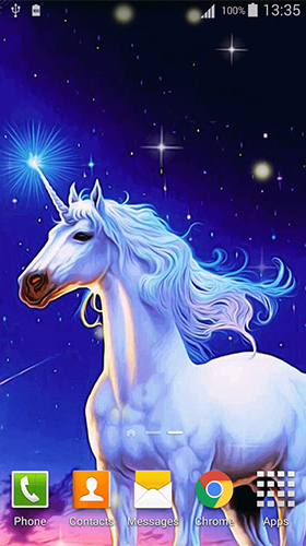 Télécharger Unicorn by Cute Live Wallpapers And Backgrounds, fond d'écran animé gratuit pour Android sur le bureau.