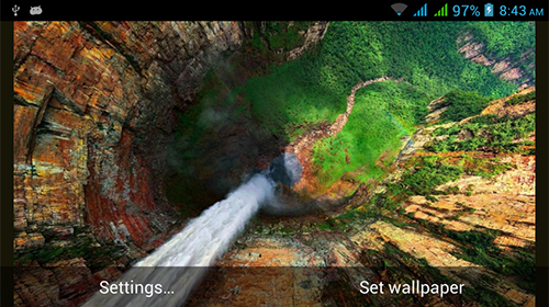 La capture d'écran Nature HD by Live Wallpapers Ltd. pour le portable et la tablette.
