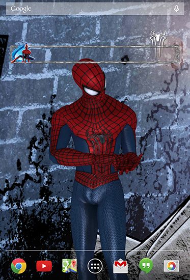 La capture d'écran Amazing Spider-man 2 pour le portable et la tablette.