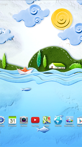 Paper world by Live Wallpapers 3D