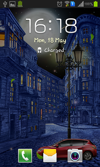 Night city by  Blackbird wallpapers